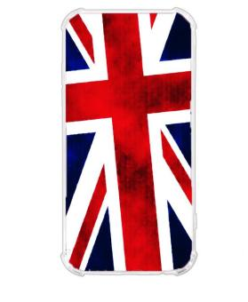 British Flag Design TPU Back Case/Jelly Case/Shock Proof forSamsung Galaxy J5 Pro
