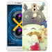 Brunswick cartoon silicone painted shell phone case