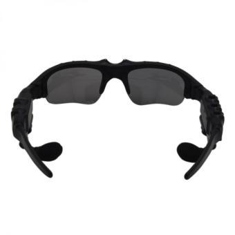 BTglasses THB368 Music Stereo Bluetooth Sun Glasses (Black) With M9Intelligent Phone Quad Smart Watch with Sim Card Slot(Black/Silver) - 4