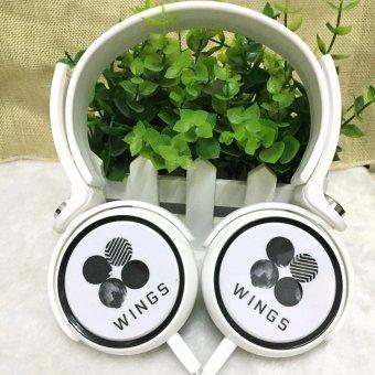 BTS Bangtan Boys WINGS Album Kpop Korean Fashion Headset Concert Style Headphone JungKook Jimin Jin J-hope Jhope V Suga - intl - 2