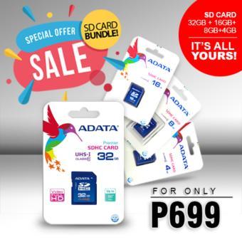 Bundle Sale - Adata SDHC Class 4 Memory Card 4GB, 8GB, 16GB, 32GB