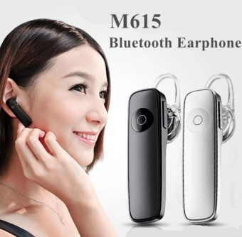 Business Headphone Wireless Stereo Mini Bluetooth In-ear EarphonePortable Sport Phone Headphone Hands-free Stereo Headset with NoiseCancelling MIC - intl