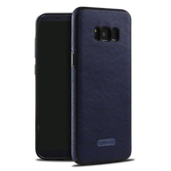 Business Style Leather Back Case Cover for Samsung Galaxy S8Plus -intl