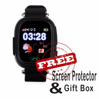 BUY 1 GET 2 FREEBIES: Q90 Children Smart Watch Kids Wrist Watch with Anti-lost GPS Tracker SOS Call Location Finder Remote Monitor Pedometer Functions Parent Control By iPhone and Android Smartphones