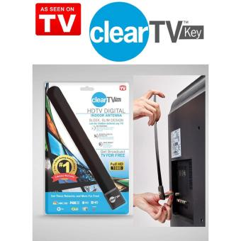 BUYINCOINS TOP Clear TV Key HDTV FREE TV Digital Indoor AntennaDitch Cable As Seen on TV - intl - 2