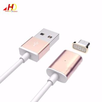 BWOO 1M Magnetic MicroUSB Data Charging Cable for Android (RoseGold) Price Philippines
