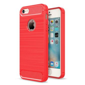 BYT Carbon Rugged Armor Cover Case for Apple iPhone 5 / 5S / SE - intl
