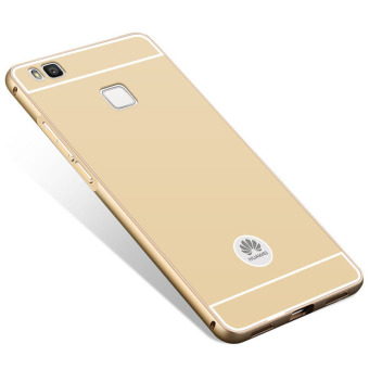 BYT Metal Bumper+PC Back Cover Case for Huawei P9 Lite (Gold) - 4