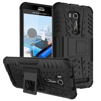 BYT Rugged Dazzle Case for Asus Zenfone Go TV ZB551KL with Kickstand (Black)