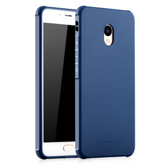 BYT Silicon Screen Protective Cover Case for Meizu M3E Meilan E(Blue) Price Philippines
