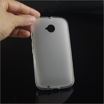 BYT TPU Back Cover Case for Motorola Moto E2 (White) Price Philippines