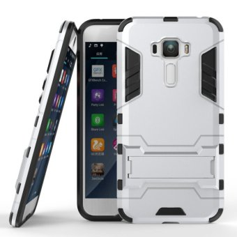 BYT TPU+PC Hybrid Phone Case for Asus Zenfone 3 ZE552KL 5.5inch(Silver)