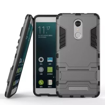 BYT TPU+PC Hybrid Phone Case for Xiaomi Redmi Note 3 (Grey)