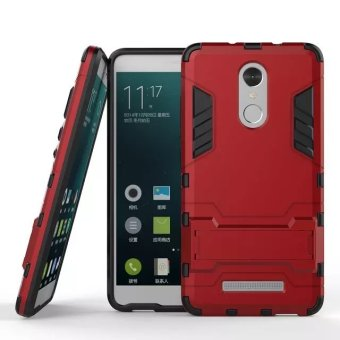 BYT TPU+PC Hybrid Phone Case for Xiaomi Redmi Note 3 (Red)