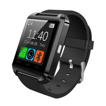 C-001 V3.0 Bluetooth Touch Screen Smart Watch (Black)