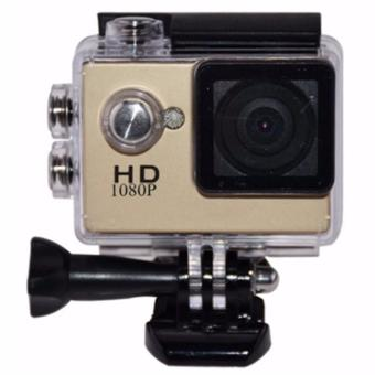 C5 Underwater HD DV 5MP Waterproof Action Sports Camera (Gold)