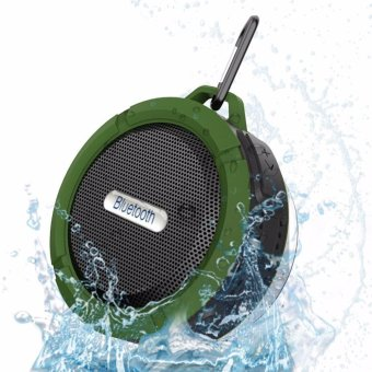 C6 Portable Wireless Shower Bluetooth Speaker Sucker Waterproof