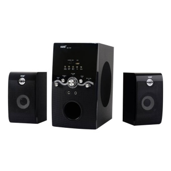 Cai Music Heaven H28-102 Sound System With Mp3 Player And 2.1 FmRadio (Black) Price Philippines