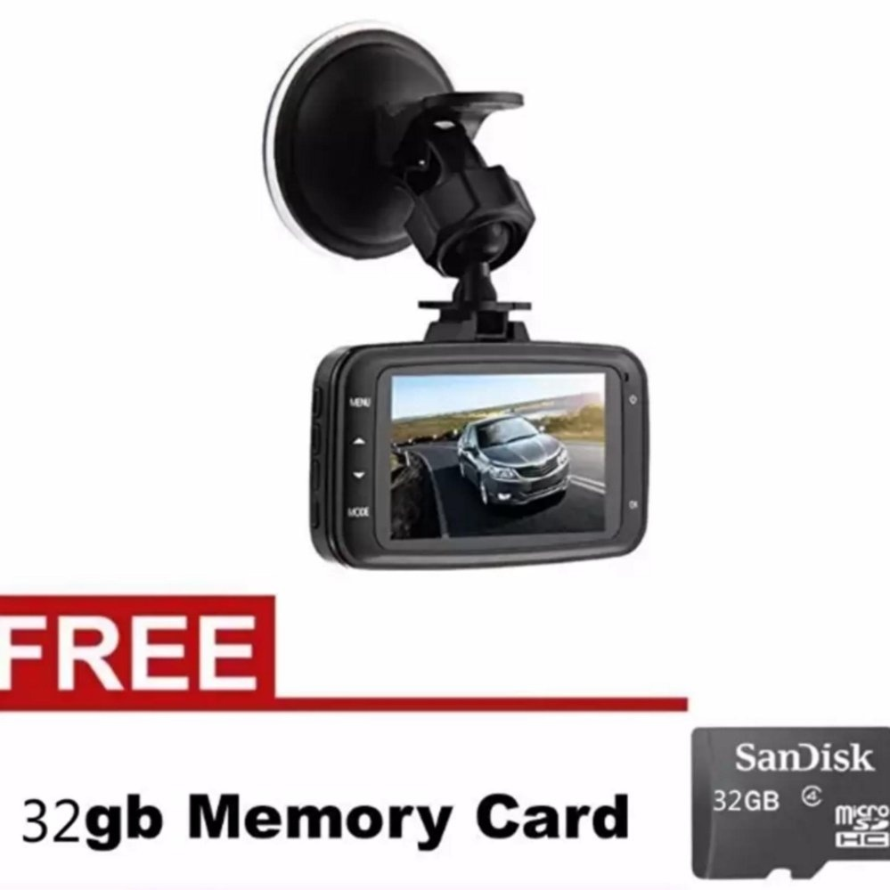 Cai-Pro Gs8000L Car Dvr 1080P Camcorder With Free 32Gb Memory CardFor Lexus with Free Samsung 2A 1M Micro Usb Charger Charging SyncData Cable For Smart Phone