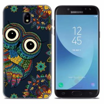 Caihui series soft case for Samsung J7 Pro (owl)