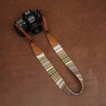 Cam7225 Bohemian SLR digital camera shoulder strap