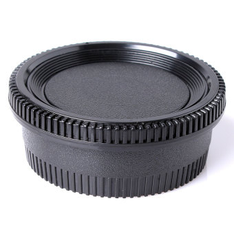 Camera Body + Rear Lens Cap Cover for Nikon DSLR and AI AF-S Lenses - 4