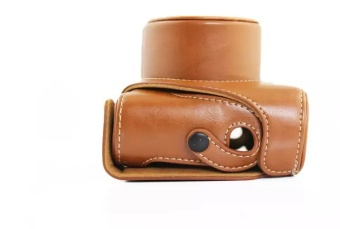 Camera Leather Case Bag Cover for FUJI FUJIFILM Finepix X20 X10LC-X20 Detachable High Quality - intl