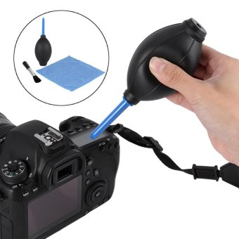 Camera Lens Screen Cleaning Dust Blower Brush Cleaning Cloth KitFor DSLR Cameras - intl - 2