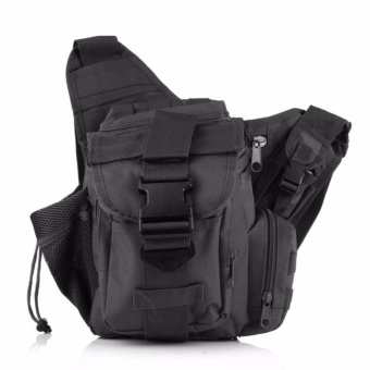 Camera Military Tactics Saddle Pockets Outdoor Leisure ShoulderMessenger Bag - intl Price Philippines