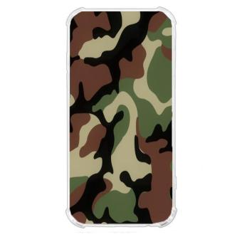 Camouflage Design TPU Back Cover Case for Alcatel Flash Plus 2