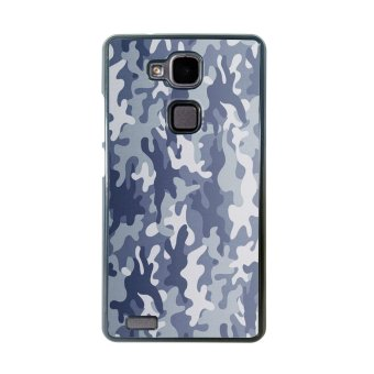 Camouflage Pattern Phone Case for Huawei Mate 7 (Black)