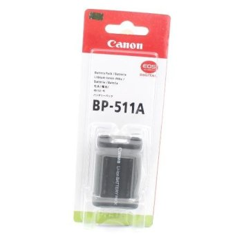 Canon Battery BP 511A for Canon EOS 5D, 50D, 40D, 30D, 20D, 10D,D60, D30, Pro90 IS, Pro1, G1, G2, G3, G5 and G6