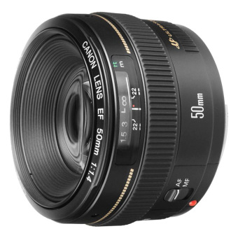 Canon EF 50mm f/1.4 f1.4 USM Lens (Black)