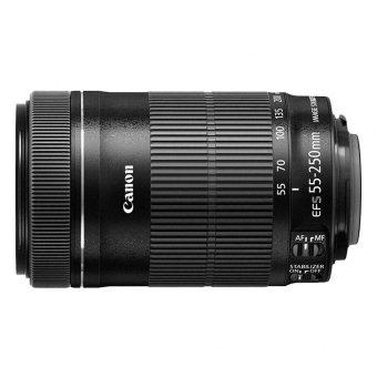 Canon EF-S(Black) 55-250mm f/4-5.6 IS STM Lens