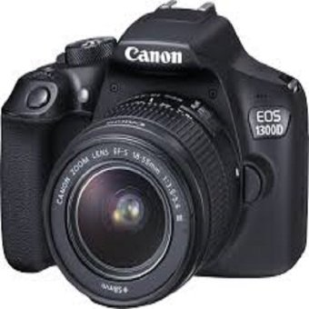 Canon EOS 1300D 18MP with EF-S 18-55mm f/3.5-5.6 III Lens Kit (Black)