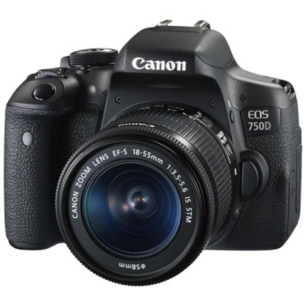 Canon EOS 750D DSLR Camera w/ EF-S 18-55mm f/3.5-5.6 IS STM Lens Kit
