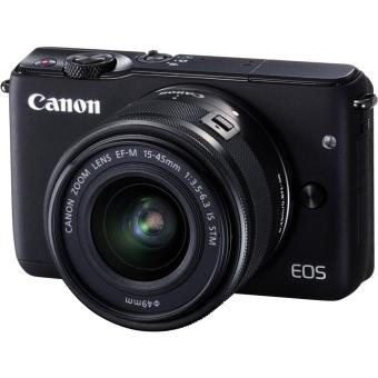 Canon EOS M10 EF M15-45 IS STM Lens Kit (Black)