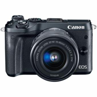 Canon EOS M6 with EF-M 15-45mm f/3.5-6.3 IS STM Lens Kit - [Black] - 5
