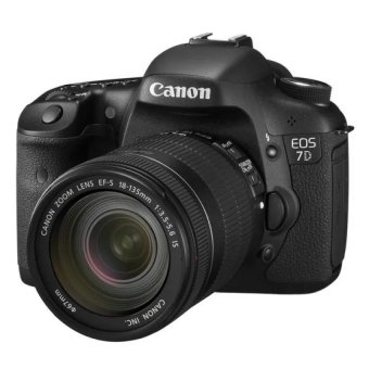 Canon EOS7D 18 MP with 18-135mm Lens Kit