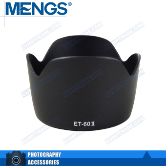 Canon et-60ii/58mm card mouth hood lotus petals