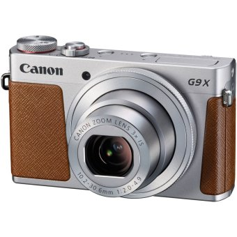 Canon PowerShot G9 X Wi-Fi Digital Camera (Silver)