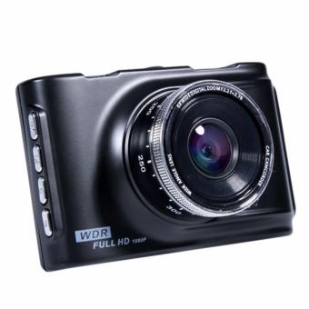 Car Cameras HD Car DVR Car Camera Video Recorder Dash Cam Camcorder(Black) - 3