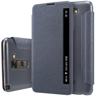 Case cover for LG Stylus 2 (K520) NILLKIN Sparkle super thin flipcover leather case with Retailed Package (Black) - intl