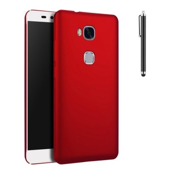 Case for Huawei Honor 5X / Huawei GR5 (5.5 inch) Ultra Thin Hard PCBack Cover Smooth Grip Case (Red) - intl