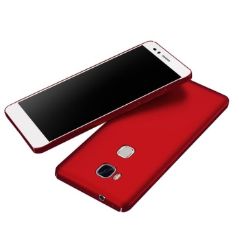 Case for Huawei Honor 5X / Huawei GR5 (5.5 inch) Ultra Thin Hard PCBack Cover Smooth Grip Case (Red) - intl - 2