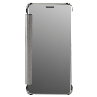 Case for Samsung Galaxy J7 Prime Luxury Mirror Clear View Flip FullBody Cover (Silver) - intl - 2