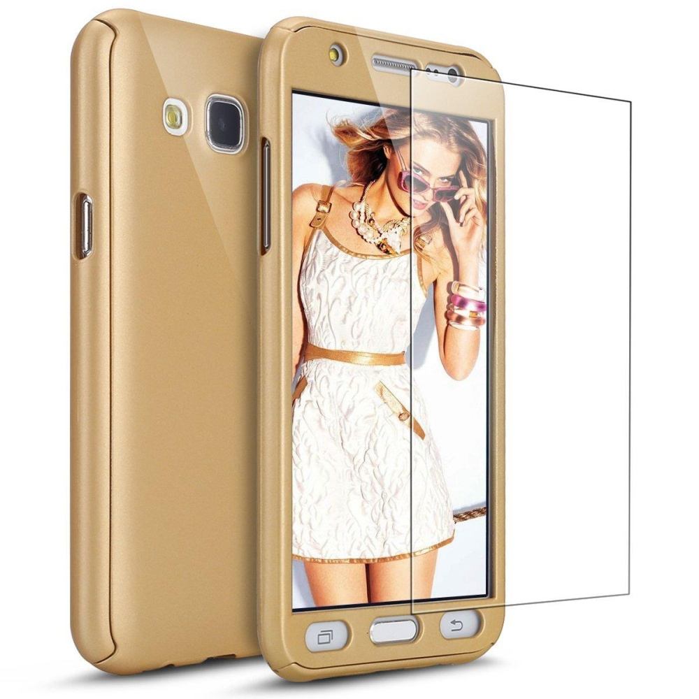 Case with Tempered Glass Screen Protector 360 Full Body Coverage Protective Case Cover Ultra-thin
