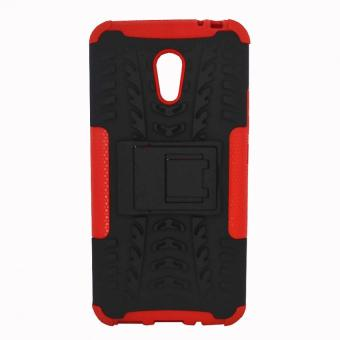 Cases Place Hybrid Defender Case with Stand for Meizu M2 Note(Black/ Red) Price Philippines
