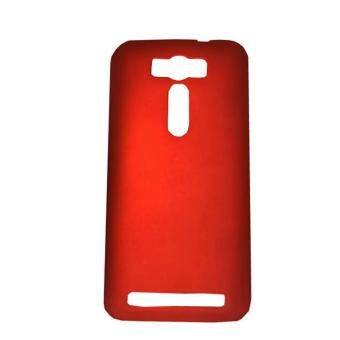 Cases Place Rubberized Hard Case for Asus Zenfone 2 Laser ZE500KL(Red)