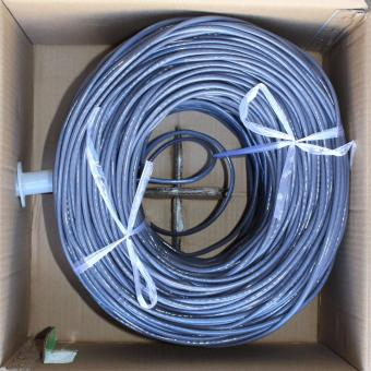 Cat5E 305m UTP Ethernet Cable Intelligent (Grey) - 3